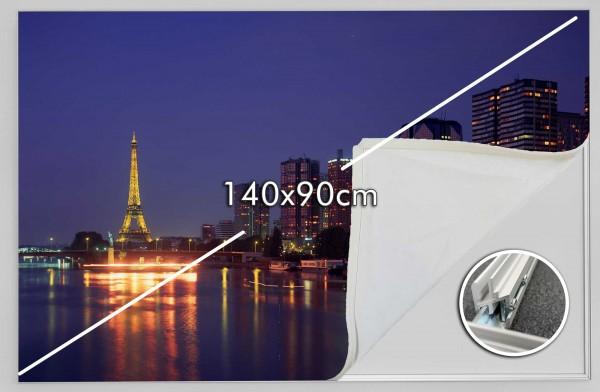 140x90 Rahmen ohne LED (2. Wahl)