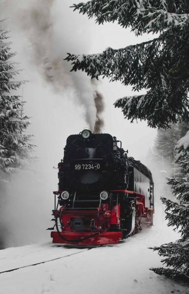 Brocken Bahn 90x140cm