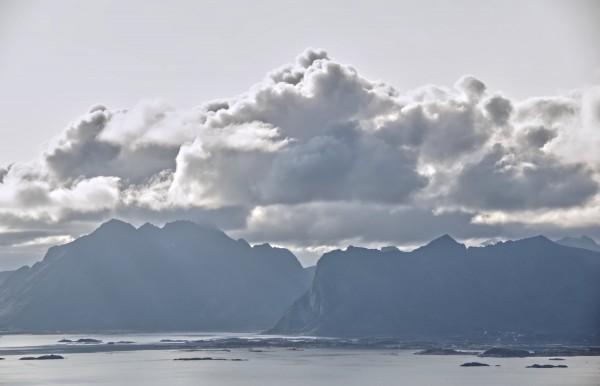 Lofoten View 140x90cm