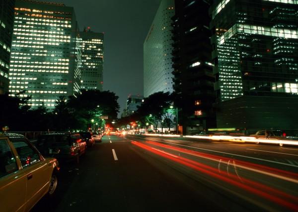 Yellow Cab Bild im LED-Leuchtrahmen - Leuchtbilder von Lumiframes Bilder-rahmen poster rahmen kunst-drucke led-leuchten foto-rahmen leucht-kasten werbe-banner foto Leinwand-bild Wandbild New york Wand-deko