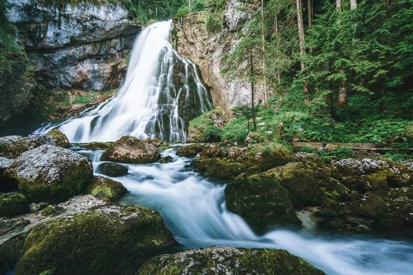 Gollinger Wasserfall 140x90cm