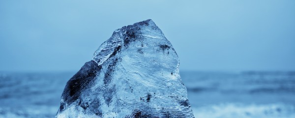 Natural Chunk Of Ice 125x50cm